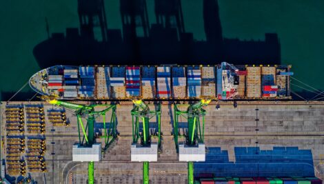 Port software to improve the efficiencies of marine-side activities